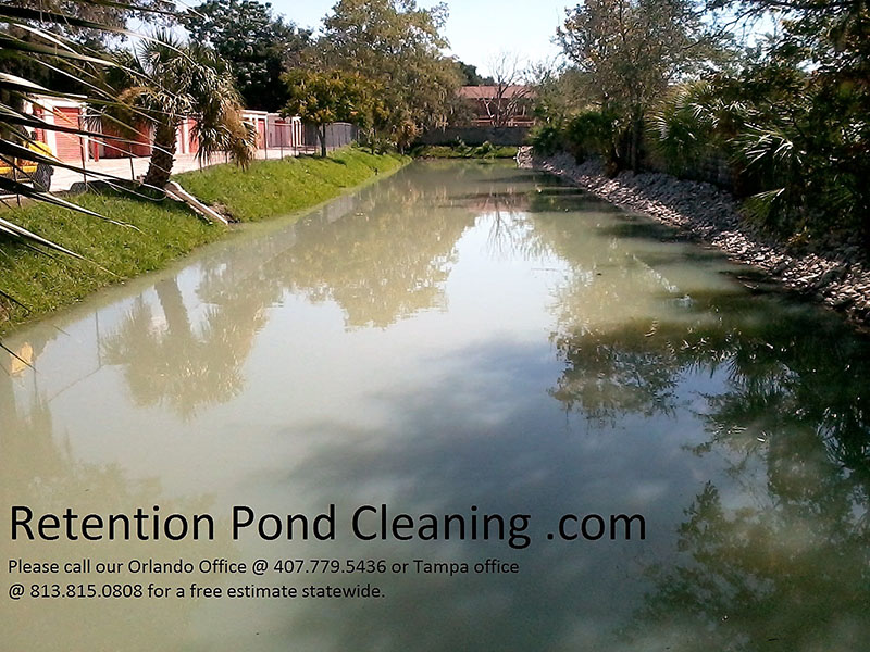 Home tampa retention pond cleaning for Pond cleaning services