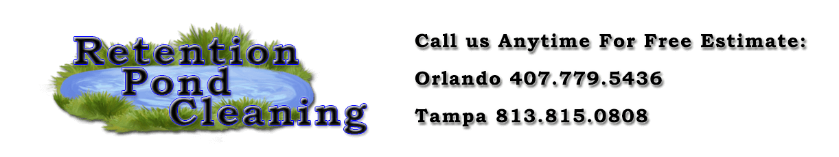 Tampa Retention Pond Cleaning Logo